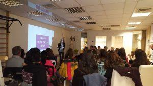 הרצאה במרכז ענבלים